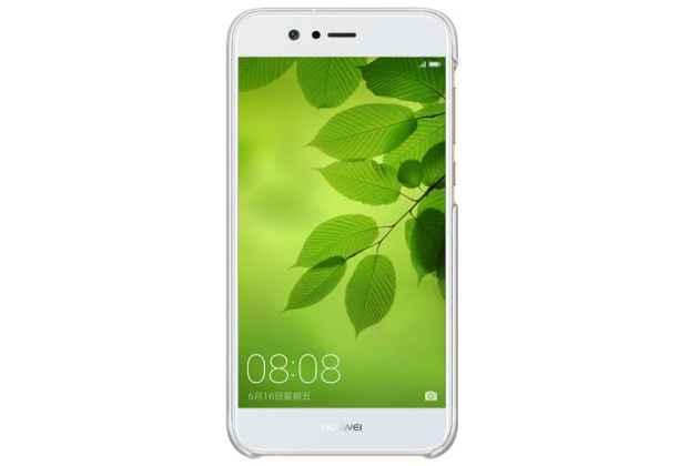 Фирменная оригинальная подлинная задняя панель-крышка с логотипом из тончайшего и прочного пластика для Huawei nova 2 5.0 (BAC-AL00) зеленая
