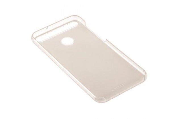 Фирменная оригинальная подлинная задняя панель-крышка с логотипом из тончайшего и прочного пластика для Huawei nova 2 5.0 (BAC-AL00) золотая