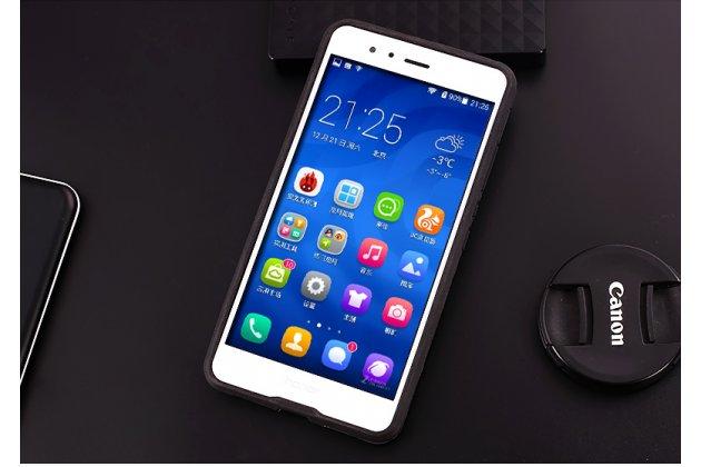 Противоударный усиленный ударопрочный фирменный чехол-бампер-пенал для Huawei nova 2 5.0 (BAC-AL00) синий