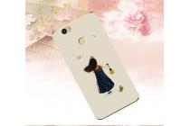 """Фирменная роскошная задняя панель-чехол-накладка  из мягкого силикона с безумно красивым расписным 3D рисунком на Huawei Nova Plus тематика """"девочка с фонариком"""""""