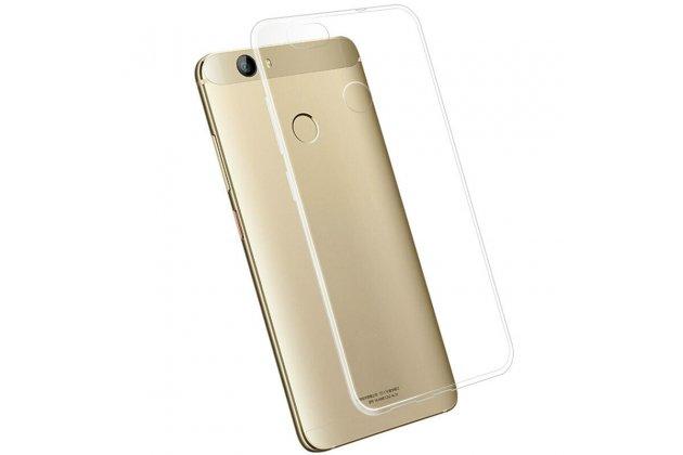 Фирменная ультра-тонкая полимерная из мягкого качественного силикона задняя панель-чехол-накладка для Huawei Nova Plus прозрачная