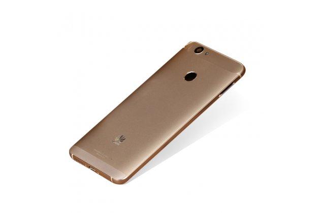 Родная оригинальная задняя крышка-панель которая шла в комплекте для Huawei Nova золотая