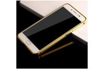 """Фирменная металлическая задняя панель-крышка-накладка из тончайшего облегченного авиационного алюминия для Huawei P10 с 3D изображением """"Дракон"""" золотая"""