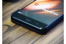 """Фирменная оригинальная деревянная из натурального бамбука задняя панель-крышка-накладка для Huawei P10 с изображением """"Keep calm"""""""