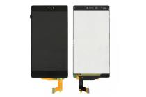 Фирменный LCD-ЖК-сенсорный дисплей-экран-стекло с тачскрином на телефон Huawei P8 черный + гарантия