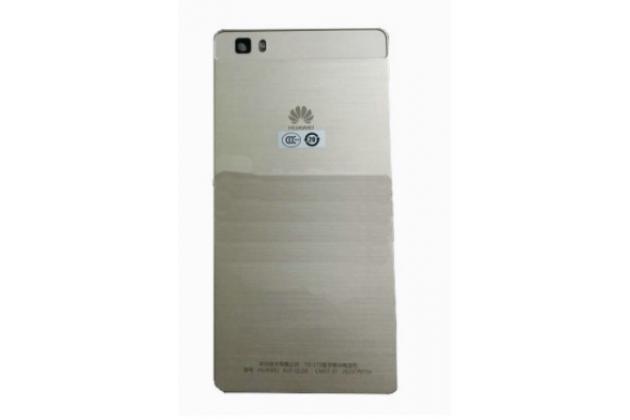 Родная оригинальная задняя крышка-панель которая шла в комплекте для Huawei P8 золотая