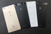 Родная оригинальная задняя крышка-панель которая шла в комплекте для Huawei P8 Lite  черная
