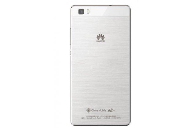 Родная оригинальная задняя крышка-панель которая шла в комплекте для Huawei P8 Lite белая