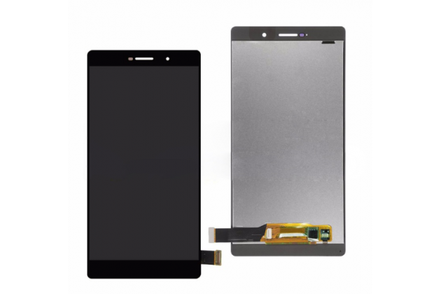 Фирменный LCD-ЖК-сенсорный дисплей-экран-стекло с тачскрином на телефон Huawei P8 max  черный + гарантия