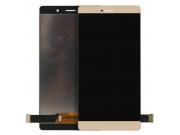 Фирменный LCD-ЖК-сенсорный дисплей-экран-стекло с тачскрином на телефон Huawei P8 max  золотой  + гарантия..