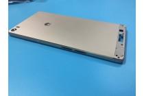 Родная оригинальная задняя крышка-панель которая шла в комплекте для Huawei P8 max золотая
