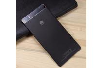 Родная оригинальная задняя крышка-панель которая шла в комплекте для Huawei P8 max  черная