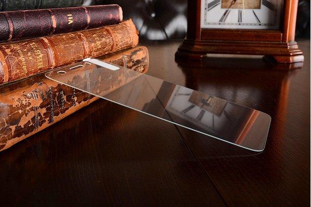 Фирменное защитное закалённое противоударное стекло премиум-класса из качественного японского материала с олеофобным покрытием для телефона Huawei Y3 2017 (CRO-U00 / CRO-L02) 5.0