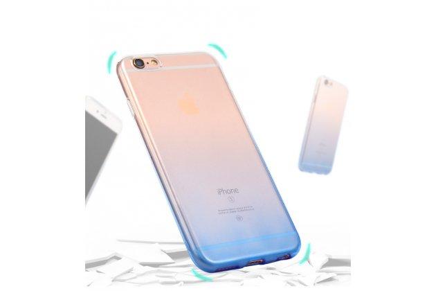 Фирменная ультра-тонкая полимерная задняя панель-чехол-накладка из силикона для Huawei Y3 2017 (CRO-U00 / CRO-L02) 5.0 прозрачная с эффектом дождя