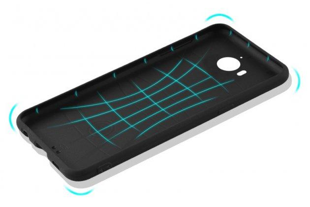 """Фирменная ультра-тонкая полимерная из мягкого качественного силикона задняя панель-чехол-накладка для Huawei Y5 2017 (MYA-AL10 / MYA-U29) / Huawei Honor 6 Play с изображением """"Супермен"""""""