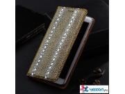 Фирменная роскошная элитная премиальная задняя панель-крышка для Huawei Y7 (TRT-LX1) 5.5 из качественной кожи ..
