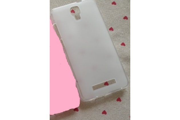 Фирменная ультра-тонкая пластиковая задняя панель-чехол-накладка для Huawei Y7 (TRT-LX1) 5.5 белая