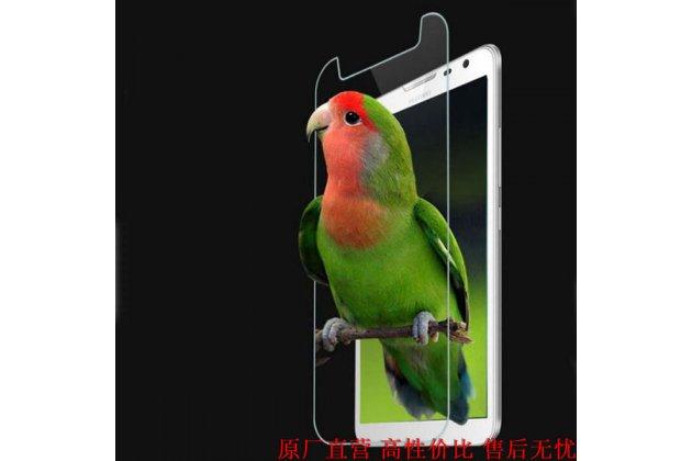 Фирменное защитное закалённое противоударное стекло премиум-класса из качественного японского материала с олеофобным покрытием для телефона Huawei Y7 (TRT-LX1) 5.5