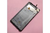 Фирменный LCD-ЖК-сенсорный дисплей-экран-стекло с тачскрином на телефон iNew L4 черный + гарантия