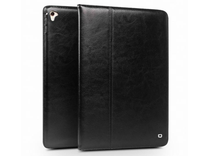 Фирменный умный элитный премиальный чехол бизнес класса для планшета iPad Air 2 из качественной импортной кожи..