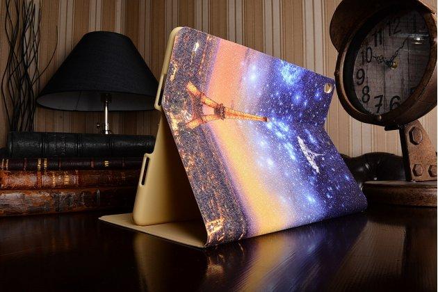 Фирменный необычный чехол для iPad Pro 10.5 тематика Ночной Париж
