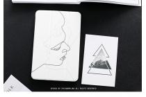 Фирменный  чехол ультра тонкий  для iPad Pro 10.5 белый пластиковый