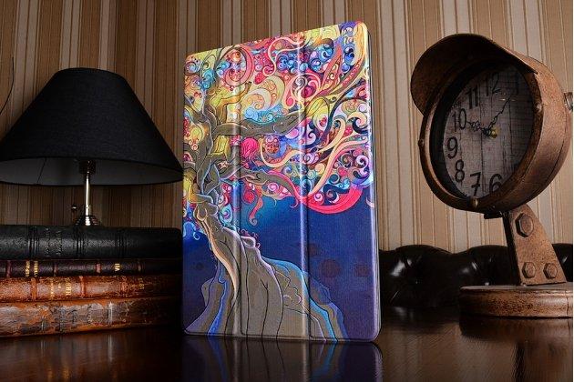 Фирменный необычный чехол для iPad Pro 10.5 тематика книга Эклектические узоры