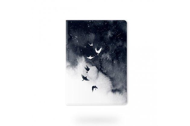 Фирменный необычный чехол для iPad Pro 10.5 тематика Птицы