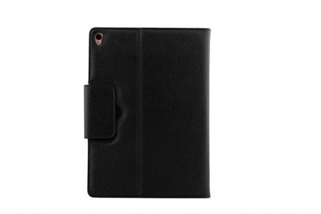 Фирменный чехол со съёмной Bluetooth-клавиатурой для iPad Pro 10.5 черный кожаный + гарантия