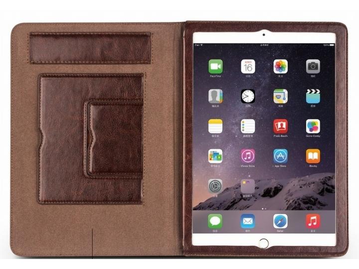 Фирменный умный качественный элитный премиальный чехол бизнес класса для планшета iPad Pro 12.9 из качественно..
