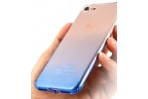 Фирменная ультра-тонкая полимерная из мягкого качественного силикона задняя панель-чехол-накладка для iPhone 7 Эффект Дождя