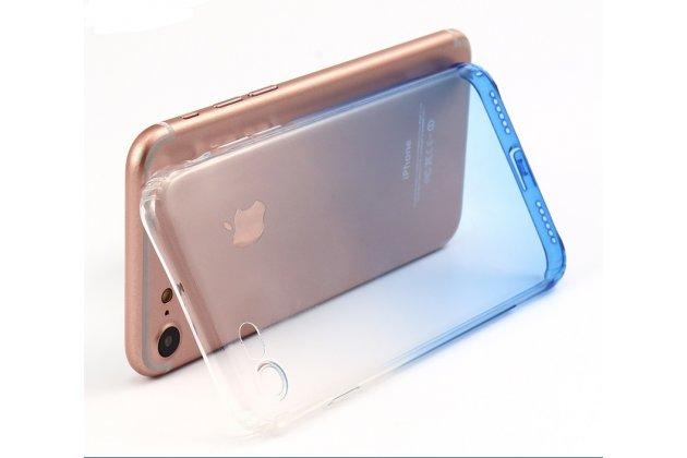 Фирменная ультра-тонкая полимерная из мягкого качественного силикона задняя панель-чехол-накладка для iPhone 7 / iPhone 8 Эффект Дождя
