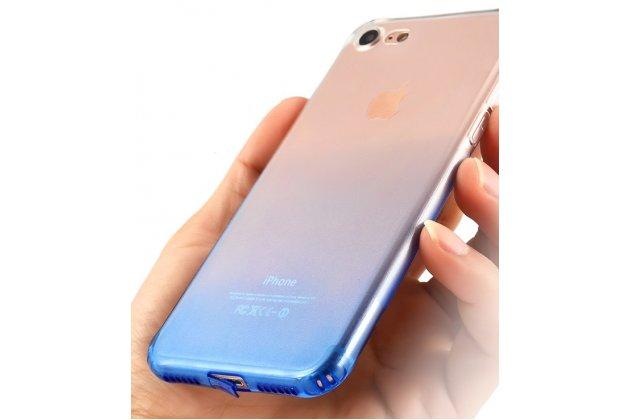 Фирменная ультра-тонкая полимерная из мягкого качественного силикона задняя панель-чехол-накладка для iPhone 7 Plus/iPhone 8 Plus Эффект Дождя