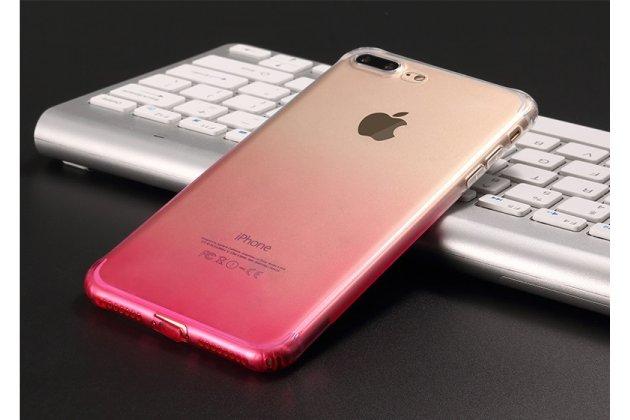 Фирменная ультра-тонкая полимерная из мягкого качественного силикона задняя панель-чехол-накладка для iPhone 7 Plus / iPhone 8 Plus Эффект Грозы