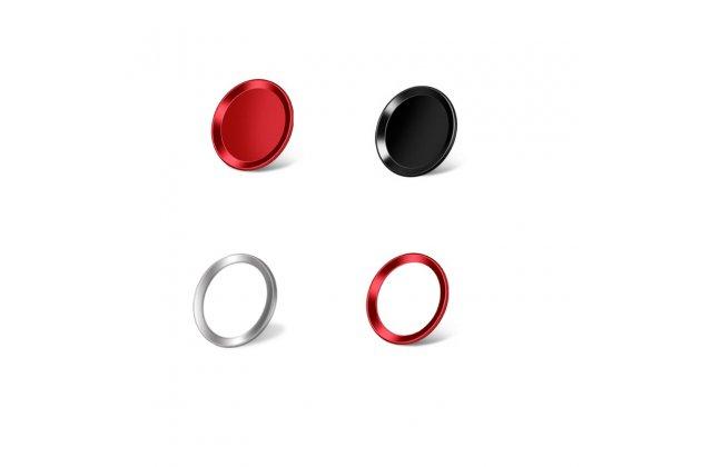 Защитная наклейка на кнопку телефона iPhone 7 Plus + 5.5 PRODUCT RED Special Edition красная