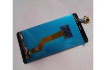 Фирменный LCD-ЖК-сенсорный дисплей-экран-стекло с тачскрином на телефон Leagoo M5 5.0 черный + гарантия