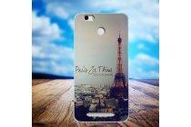 Фирменная ультра-тонкая полимерная из мягкого качественного силикона задняя панель-чехол-накладка для Leagoo Shark 1 тематика Париж