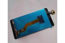 Фирменный LCD-ЖК-сенсорный дисплей-экран-стекло с тачскрином на телефон Leagoo V1 черный + гарантия