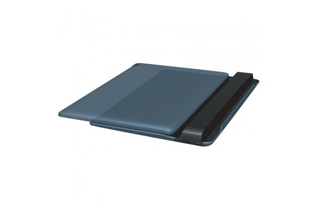 Фирменная оригинальная съемная клавиатура/док-станция/база BKC510 для планшета Lenovo Tab 2 A10-30 /TAB 2 X30 LTE / TB2-X30L/ TAB 2 A10-70F / A10-70L / Tab 3 Business X70L/ X70F/ TB3-X70L / Ideatab A7600/ A10-70 синего цвета + гарантия + русские клавиши