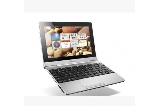 Фирменная оригинальная съемная клавиатура/док-станция/база для планшета Lenovo IdeaTab S2110 / S2110a черного цвета + гарантия + русские клавиши
