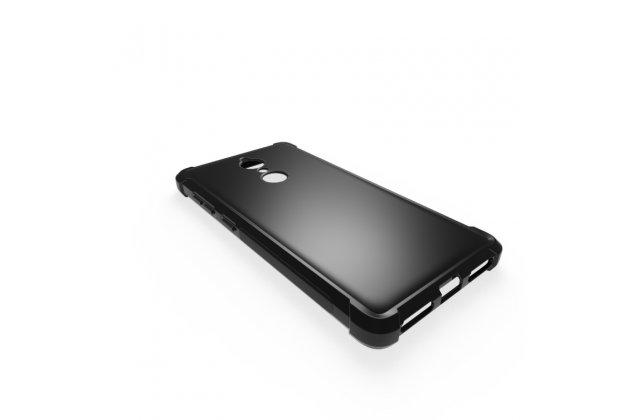 Фирменная ультра-тонкая полимерная из мягкого качественного силикона задняя панель-чехол-накладка для Lenovo K8 5.2 черная
