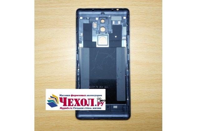 Родная оригинальная задняя крышка-панель которая шла в комплекте для Lenovo K8 Note черная