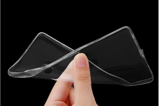 Фирменная ультра-тонкая полимерная из мягкого качественного силикона задняя панель-чехол-накладка для Lenovo K8 Note/K8 Plus прозрачная