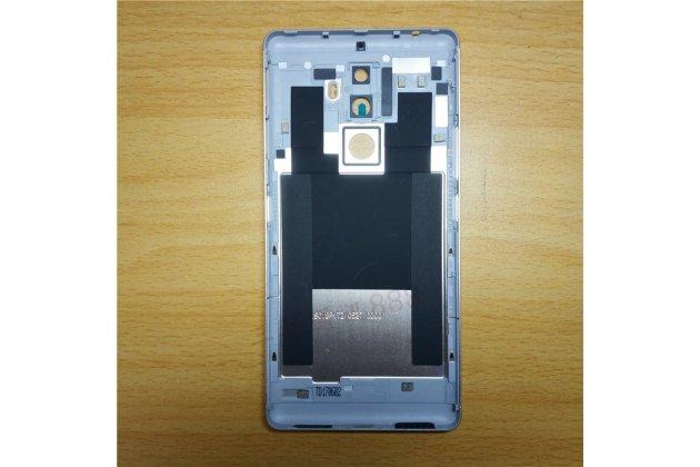 Родная оригинальная задняя крышка-панель которая шла в комплекте для Lenovo K8 Note золотая