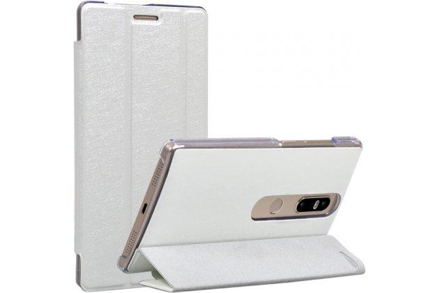 Фирменный умный чехол самый тонкий в мире для Lenovo Phab 2 Plus PB2-670M 6.4 iL Sottile белый пластиковый Италия