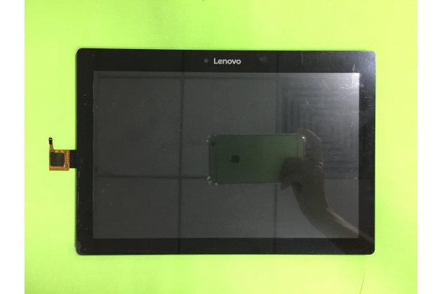 Фирменный LCD-ЖК-сенсорный дисплей-экран-стекло с тачскрином на телефон Lenovo Tab 2 A10-30 / Lenovo TAB 2 X30 черный + гарантия