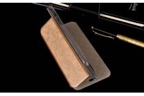 """Фирменный чехол-книжка водоотталкивающий с мульти-подставкой на жёсткой металлической основе для Lenovo VIBE C2 Power/ K10 ( K10A40/ PA450118RU) 5.0""""  золотой"""