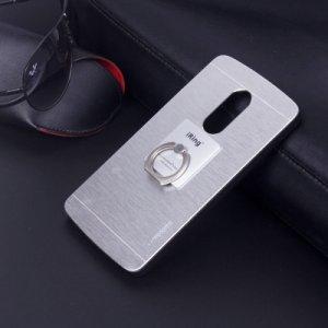 """Фирменная металлическая задняя панель-крышка-накладка из тончайшего облегченного авиационного алюминия для Lenovo Vibe Х3/ X3c50/ X3c70"""" серебристая"""