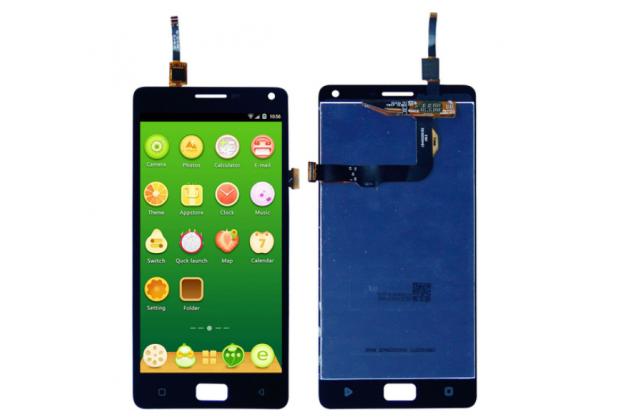 Фирменный LCD-ЖК-сенсорный дисплей-экран-стекло в сборе с тачскрином на телефон Lenovo Vibe P1 / P1 Pro (C72) 5.5 черный + гарантия