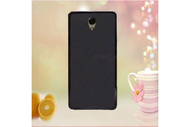 Фирменная ультра-тонкая полимерная из мягкого качественного силикона задняя панель-чехол-накладка для Lenovo Vibe P2 черная